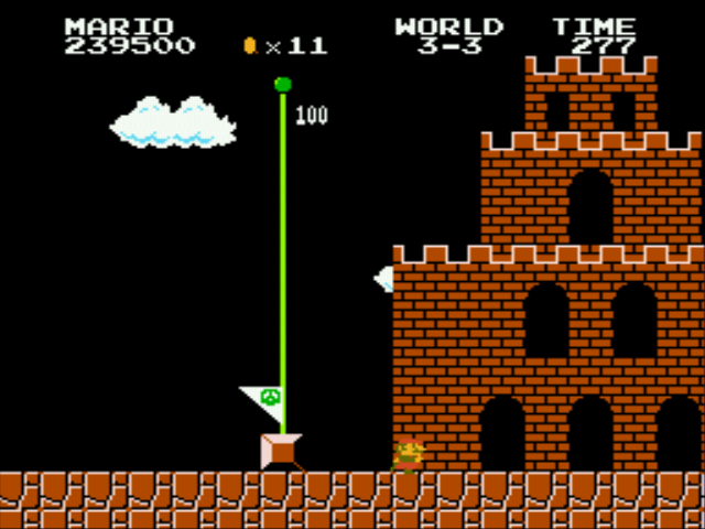 Super Mario Bros - Genesis - yet another fail! - User Screenshot